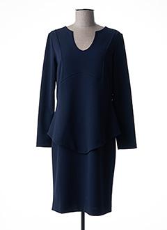 Robe mi-longue bleu EROKE pour femme