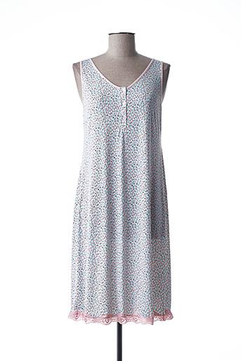 Chemise de nuit rose BARANDI pour femme