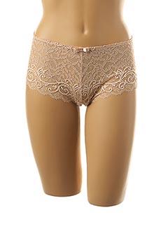 Shorty/Boxer beige SIMONE PERELE pour femme