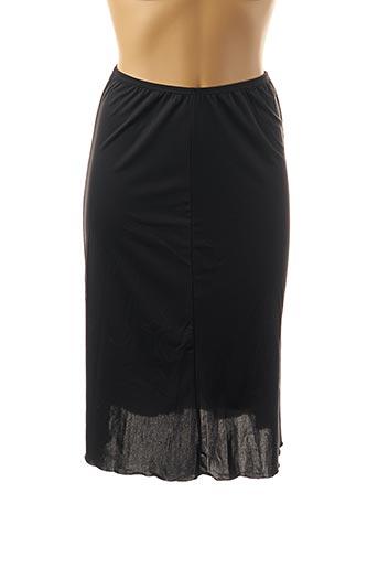 Jupon /Fond de robe noir SANAO pour femme