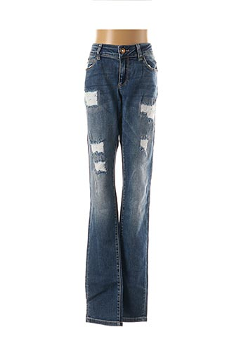 Jeans coupe slim bleu LIU JO pour fille