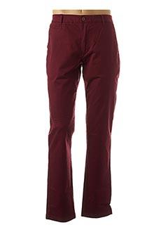Pantalon casual rouge OXBOW pour homme