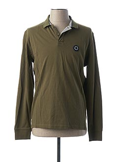 Polo manches longues vert PEPE JEANS pour homme