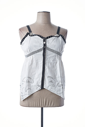 Top blanc ALL BEAUTIFUL pour femme