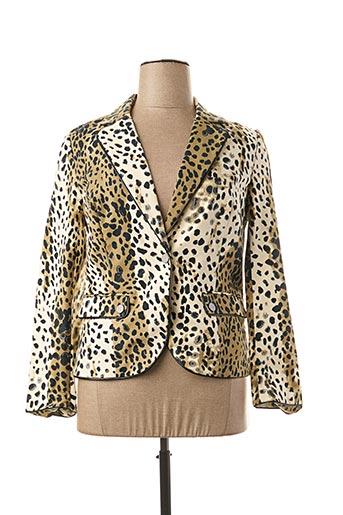 Veste chic / Blazer beige LESLIE pour femme