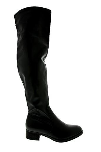 Bottes noir J&J SHOES pour femme
