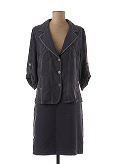Veste/jupe bleu CINOCHE pour femme