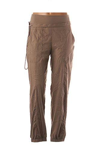 Pantalon casual marron BAI AMOUR pour femme