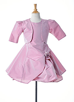 Veste/robe rose EMMA LA FOLIE pour fille