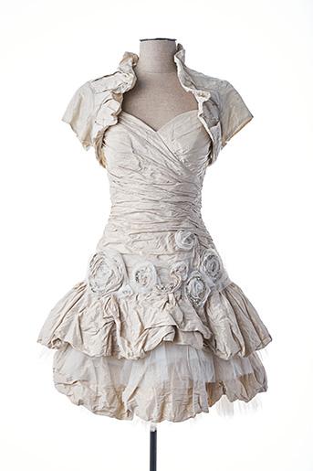 Veste/robe beige LINEA RAFFAELLI pour femme