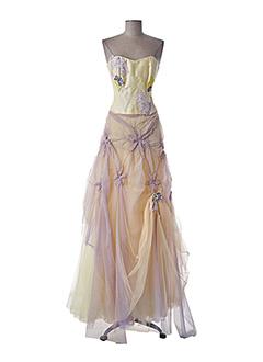 Top/jupe jaune ELSA GARY pour femme