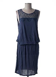 Robe mi-longue bleu ONLY pour femme