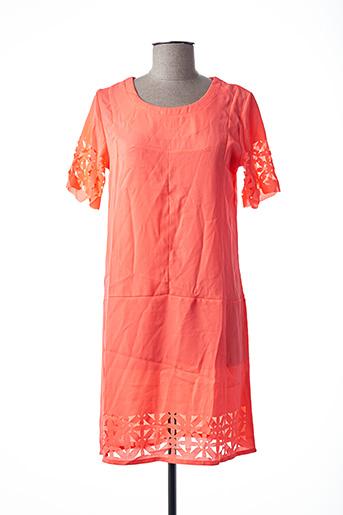 Robe courte orange MOLLY BRACKEN pour femme