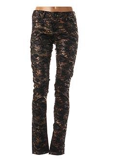 Pantalon casual noir KAPORAL pour femme