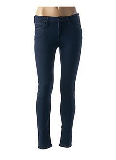 Jeans skinny bleu LEE pour femme