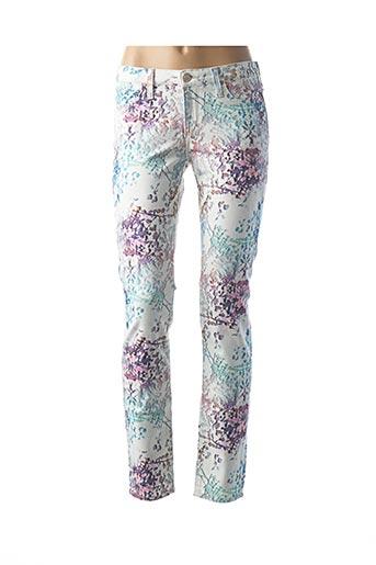 Jeans skinny violet LEE pour femme