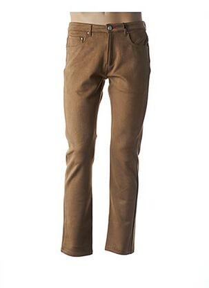 Pantalon casual beige LA CIBLE ROUGE pour homme