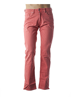 Jeans coupe droite orange KAPORAL pour homme