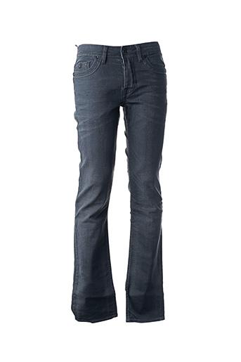 Jeans coupe slim gris KAPORAL pour homme