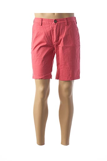 Bermuda rouge RUCKFIELD pour homme
