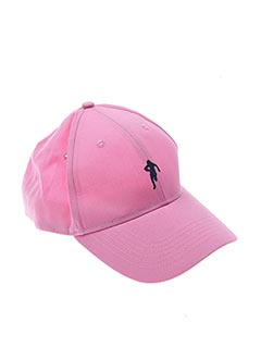 Casquette rose RUCKFIELD pour femme