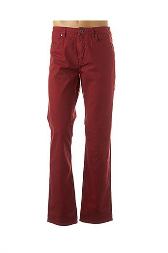 Pantalon casual rouge TIBET pour homme