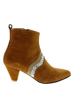 Bottines/Boots marron EMMA.GO pour femme
