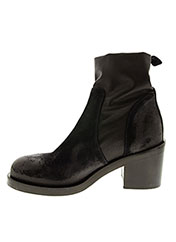 Bottines/Boots noir STRATEGIA pour femme seconde vue