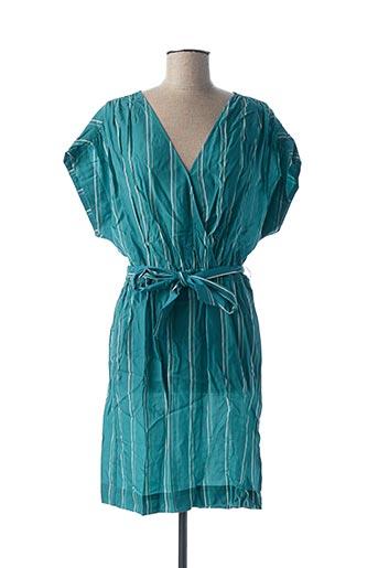 Robe mi-longue vert EKYOG pour femme