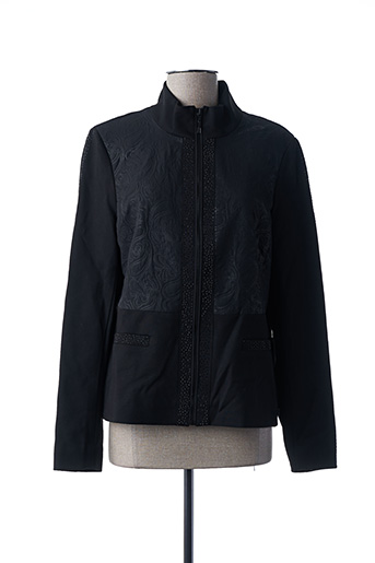 Veste chic / Blazer noir REVER MILE pour femme