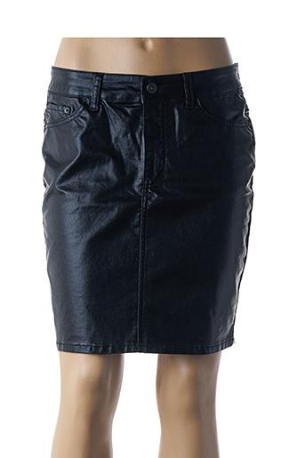 Jupe courte noir ICHI pour femme