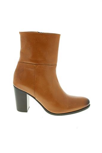 Bottines/Boots marron ATELIER BOWER pour femme