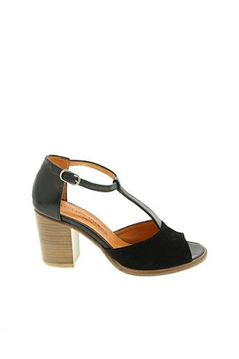 Sandales/Nu pieds noir ATELIER BOWER pour femme