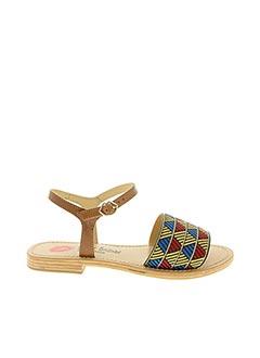Sandales/Nu pieds rouge BONS BAISERS DE PANAME pour femme