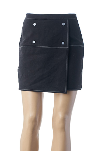 Jupe courte noir YAYA pour femme