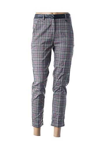 Pantalon 7/8 gris FRACOMINA pour femme
