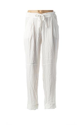 Pantalon casual blanc AMS PURE pour femme