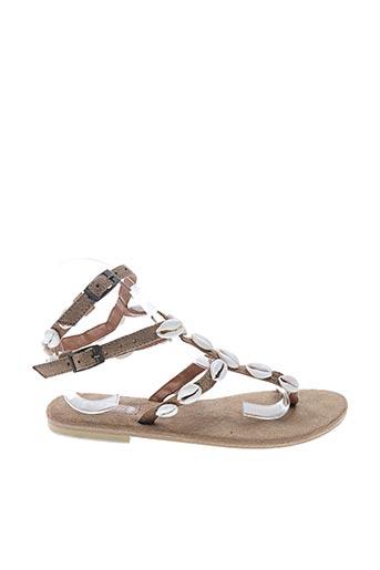 Sandales/Nu pieds marron HOT LAVA pour femme