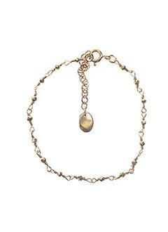 Bracelet jaune UNE À UNE pour femme