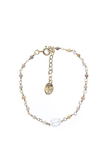 Bracelet beige UNE À UNE pour femme
