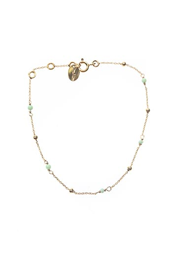 Bracelet vert UNE À UNE pour femme