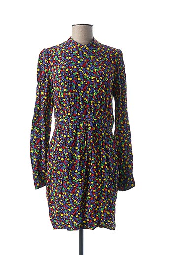 Robe courte violet IDANO pour femme