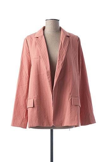Veste chic / Blazer rose FRNCH pour femme