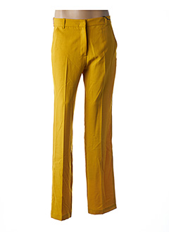 Pantalon chic jaune ESSENTIEL ANTWERP pour femme