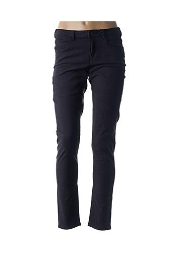 Jeans skinny noir SCOTCH & SODA pour femme
