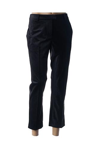 Pantalon 7/8 noir IDANO pour femme