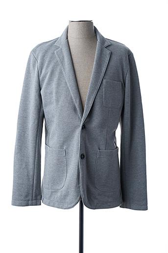 Veste casual gris JACK & JONES pour homme