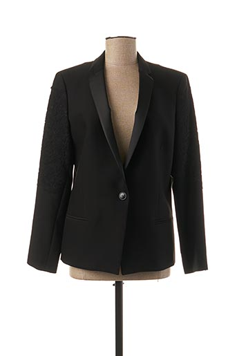 Veste chic / Blazer noir ANA SOUSA pour femme