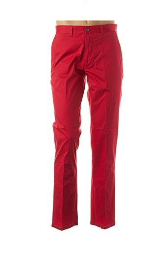 Pantalon casual rouge FORECAST pour homme