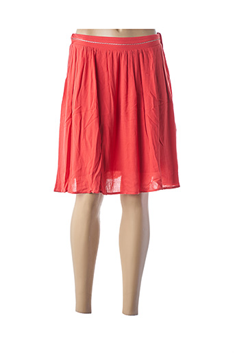 Mini-jupe orange ARTLOVE pour femme